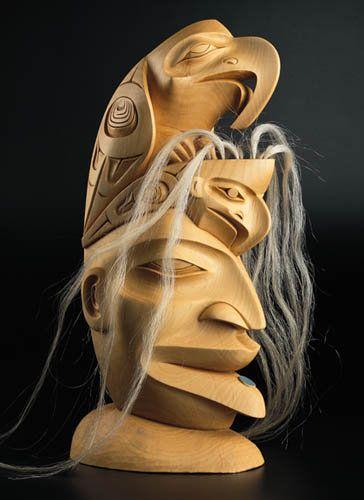 Eagles by Dempsey Bob, Tahltan, Tlingit artist (X30506)