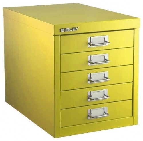 The Container Store > Bisley® 5-Drawer Cabinet  filing cabinets and cartsPhotos, Fivedraw Cabinets, 5 Drawers Cabinets, The Container Stores, Crafts Room, Industrial Lights, Home Offices Design, Bisley Fivedraw,  File Cabinets