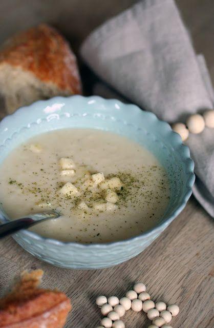 siebenVORsieben - Einfache Sellerie-Birnen-Suppe