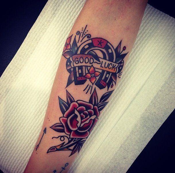 Thank You Littlebodybigheart Done At Goodlucktattoo: 1000+ Ideas About Luck Tattoo On Pinterest