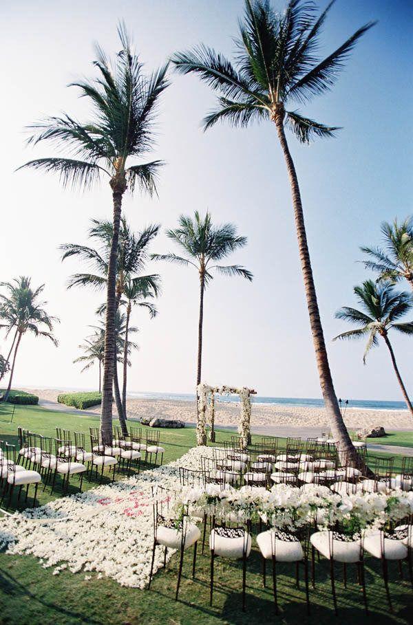 Photography: Steve Steinhardt Photography - stevesteinhardt.com Wedding Design: Beth Helmstetter Events - bethhelmstetter.com Floral Design: Holly Flora - hollyflora.com  Read More: http://www.stylemepretty.com/2013/01/10/big-island-wedding-from-beth-helmstetter-events-steve-steinhardt/