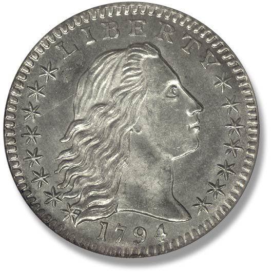 Flowing Hair. 1794-1795