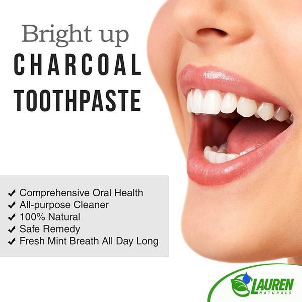 Activated Charcoal Natural Toothpaste