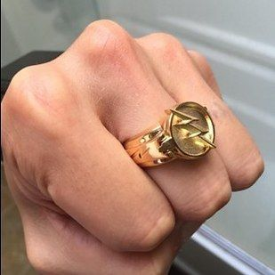 "This Reverse-Flash ring that is amazing for cosplay or everyday life as an evil human. | 29 Products You Need If You're Obsessed With ""The Flash"""
