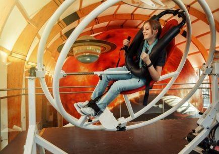 First Czech 3D planetarium to open Nov 5, 2013. / V Plzni byla ukončena stavba prvního 3D planetária v Česku. Podobných technologií je do deseti na světě. Veřejnosti se objekt v areálu plzeň...