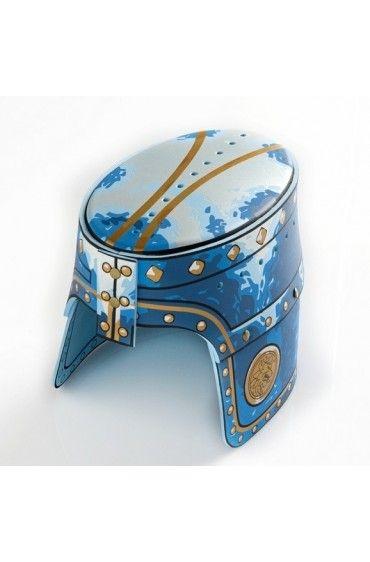 Noble Knight Hełm Niebieski Ryce Liontouch