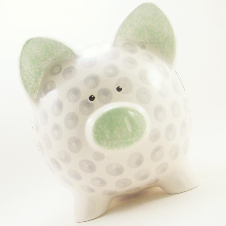 260 best golf ball crafts images on pinterest for Piggy bank craft