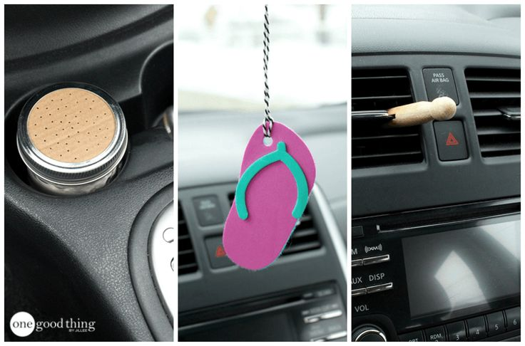 How To Make 3 Naturally-Scented Air Fresheners For Cars - One Good Thing by JilleePinterestFacebookEmailPinterestFacebookPrintFriendlyAddthis