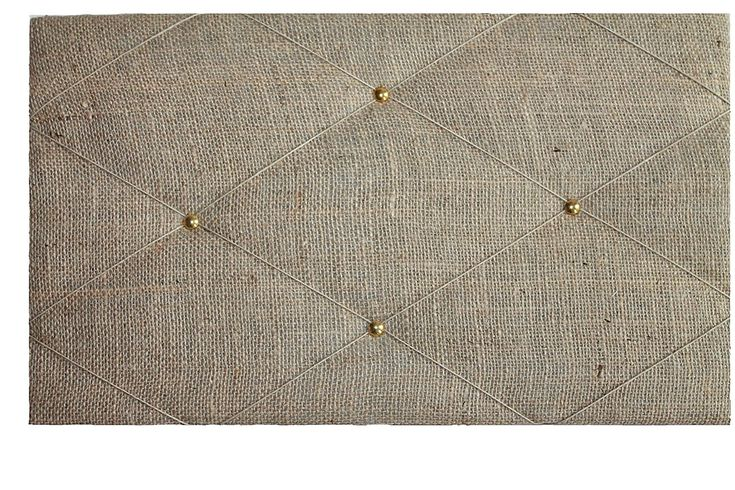 """Pin Boards/Notice Boards/ """"Burlap Natural Hessian Fabric"""" Bulletin Boards, Memo, Ribbon, Message Boards: Amazon.co.uk: Office Products"""
