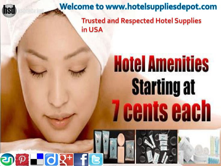 We at Hotel Supplies Depot in USA. Our extensive line includes a vast selection of hotel supplies like blankets, pillows, towels, sheets, spa products, hotel shampoo, bedspreads, indoor & outdoor furniture, condo appliances, artwork, mirrors, quality amenities, small electrical appliances with equilibrium price. To place your order call on- (561)674-8498.
