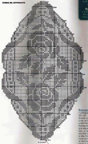 World crochet: Napkin 328