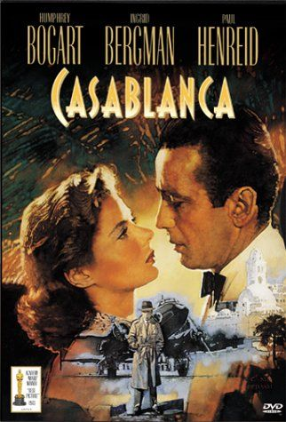 Casablanca … Starring: Humphrey Bogart, Ingrid Bergman....... The ultimate classic romantic movie....... Aline ♥