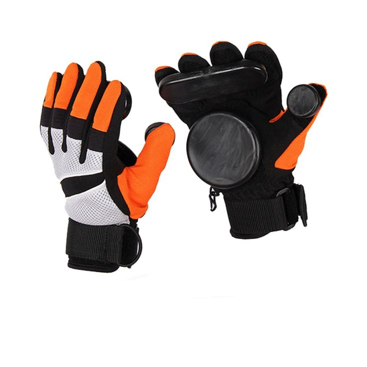 Skateboard glove Longboard Slide Gloves With Slider Professional Down hill Skate Skateboard accessories Size M&XL