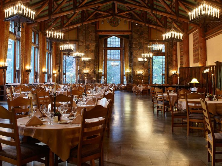 Ahwahnee Hotel Dining Room The Coziest Restaurant In Every State  Holiday Time Cozy