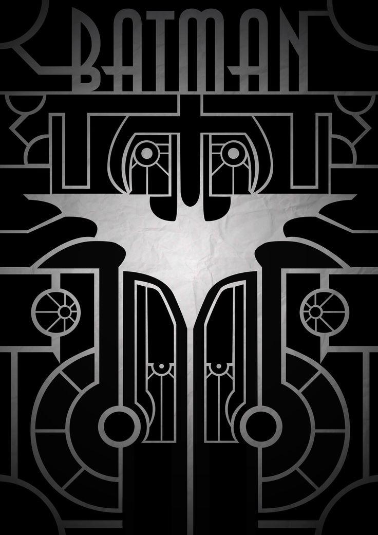 Batman Art Deco (similar to Great Gatsby).