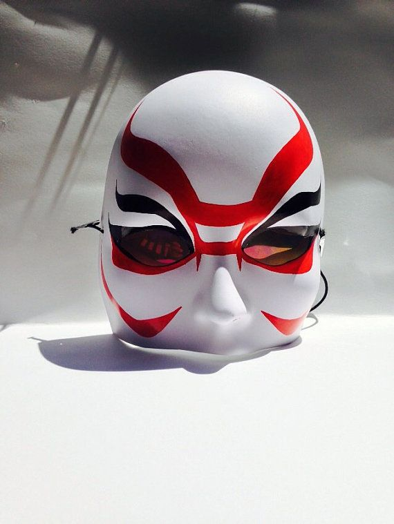 Deluxe Yokai Kabuki Mask Big hero 6 Dr. Callaghan Man by NKCosplay