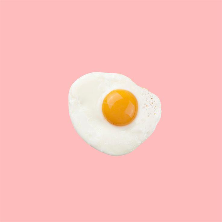 photography food design pink eggs graphic design pop art breakfeast