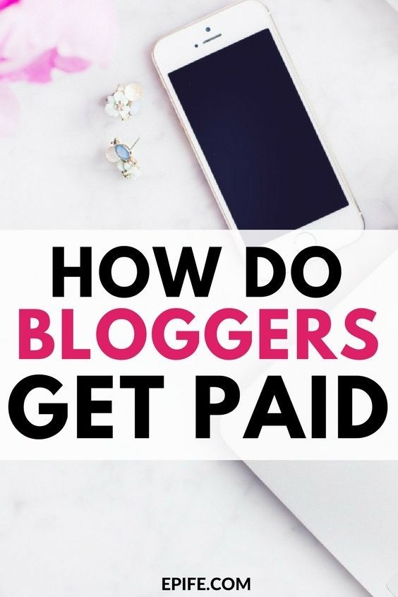How do bloggers get paid? How bloggers make money from blogging? This post answers all of your questions! Find out numerous ways bloggers get paid. #blogging #bloggingtips #makemoneyonline