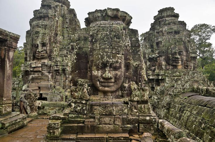 Angkor, temple bouddhique
