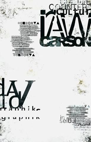 「david carson poster」の画像検索結果