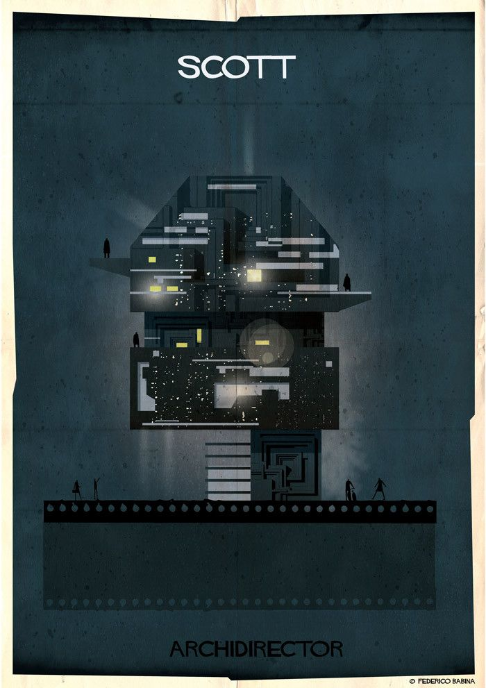 Gallery - ARCHIDIRECTOR: A Fantastical City Inspired by Famous Directors by Federico Babina - 4