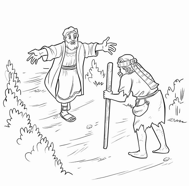 24 the Prodigal son Coloring Page in 2020 | Prodigal son ...