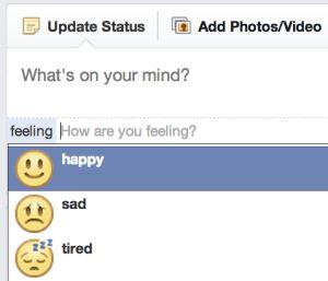 """Facebook ganha novos emoticons no formato """"pensamento"""""""