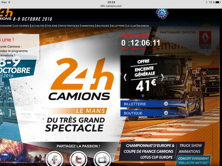 24 Heures Camions (@24heurescamions) | Twitter