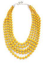You Bijou Necklace in Saffron | Mod Retro Vintage Necklaces | ModCloth.com