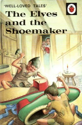 ELVES AND THE SHOEMAKER Vintage Ladybird Book Well Loved Tales Series 606D Gloss Hardback 1987