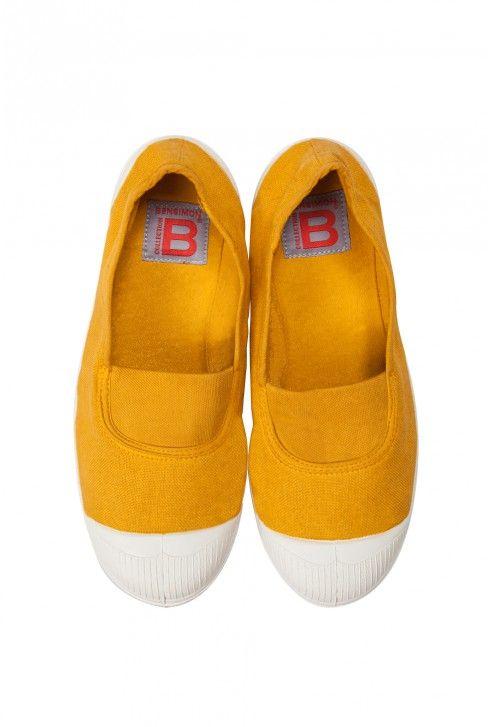 Bensimon elastique jaune sur Bensimon