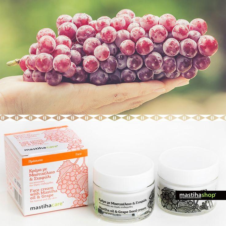 #FACE #CREAM WITH #MASTIHA OIL & #GRAPE #cosmetics #organic #beauty #skincare