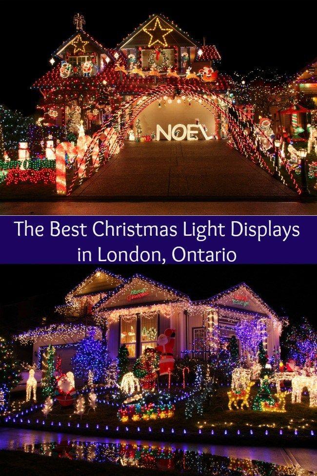 Best Christmas Light Displays London Ontario Christmas Light Displays Best Christmas Light Displays Light Display