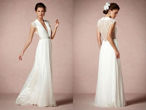 aisle style grecian style wedding gowns