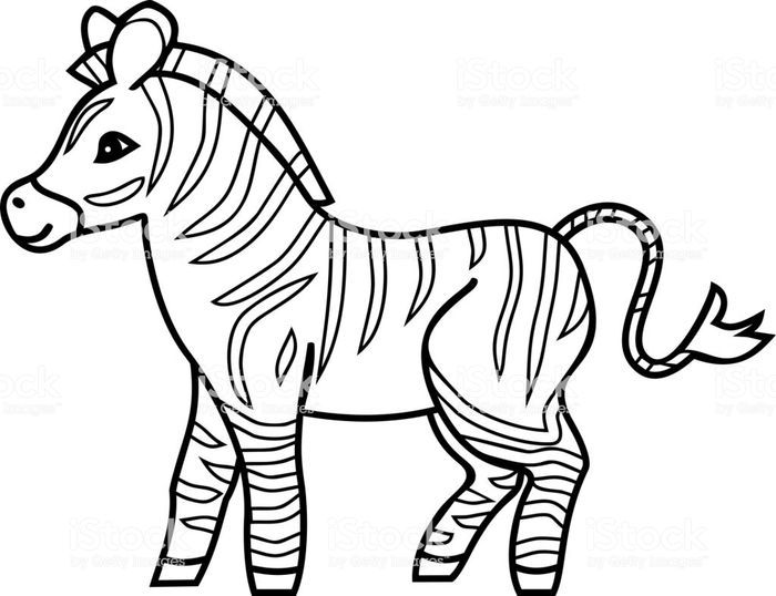 Free Coloring Pages Horse Zebra Zebra Coloring Pages Animal Coloring Pages Horse Coloring Pages