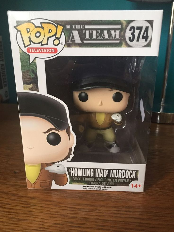 Funko Pop Howling Mad Murdock The A Team The a team