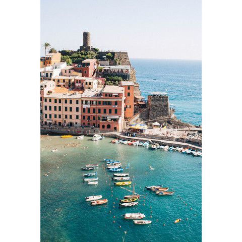Vernazza, Cinque Terre by Mintwood Home