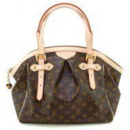 Authentic Louis Vuitton Monogram Canvas Tivoli GM Bag M40144