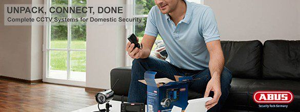 ABUS offers complete systems for video surveillance. For all-round protection of your home, choose one of our cost-efficient digital recorder camera kits.