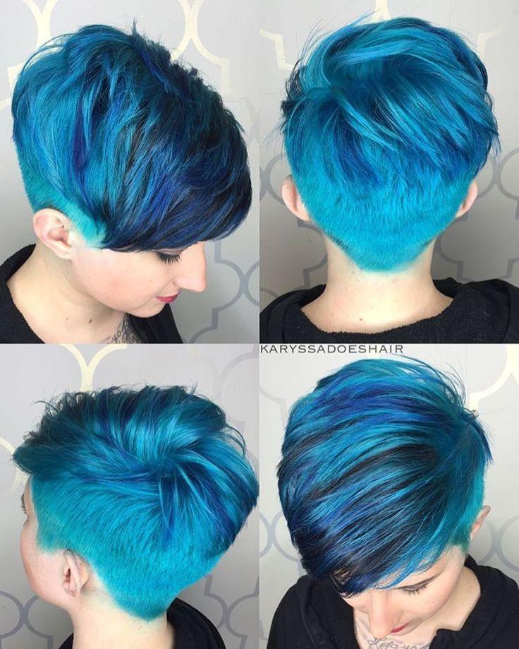 сейчас там фото бело синих волос на коротких волосах красивые парни
