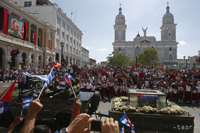 V Santiagu de Cuba pochovávajú vodcu revolúcie Fidela Castra - Zahraničie - TERAZ.sk