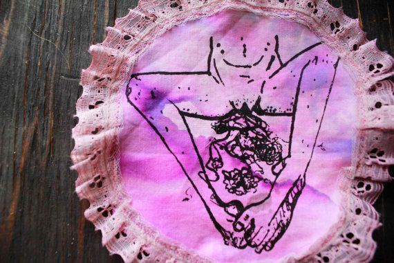 PINK Lacey g r o w t h Patch