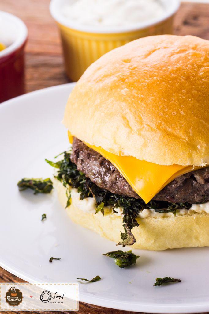 hambúrguer de fraldinha e gorgonzola