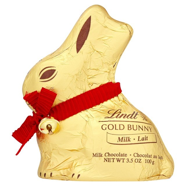 Lindt Gold chocolate bunny