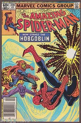 #marvel #spiderman #hobgoblin 1983 Marvel Comics THE AMAZING SPIDER-MAN #239 The Hobgoblin