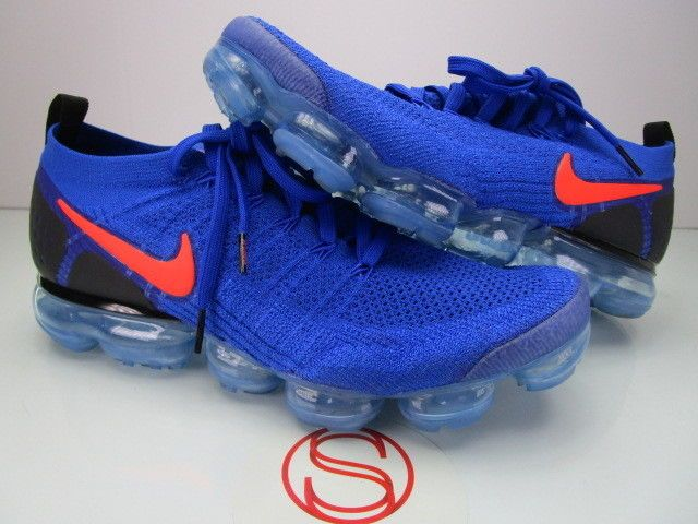 aa6346a428801 Nike Air Vapormax Flyknit 2 RACER BLUE 11.5 #fashion #clothing ...