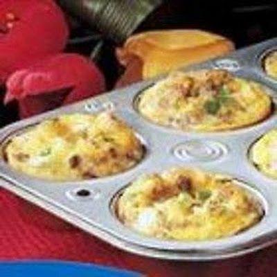 Scrambled Egg Muffins | Food and treats | Pinterest