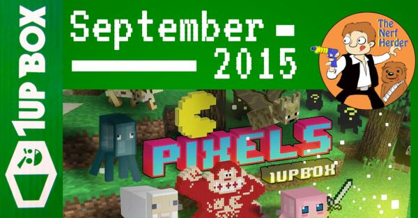 """1Up Box """"Pixels"""" Unboxing & Review – September 2015"""