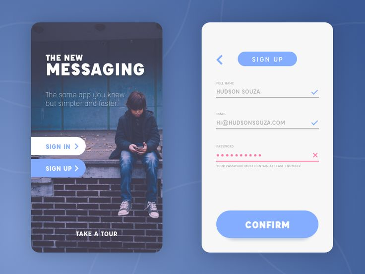 I was looking for a reason to design some screens and thanks to @Michel Koga I remembered the Daily UI Challenge. Here's the first shot for a sign up screen, hope you like it :)