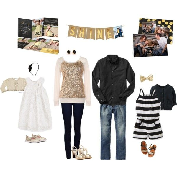 What to wear for your family photos black gold by peartreegreet familyphotos